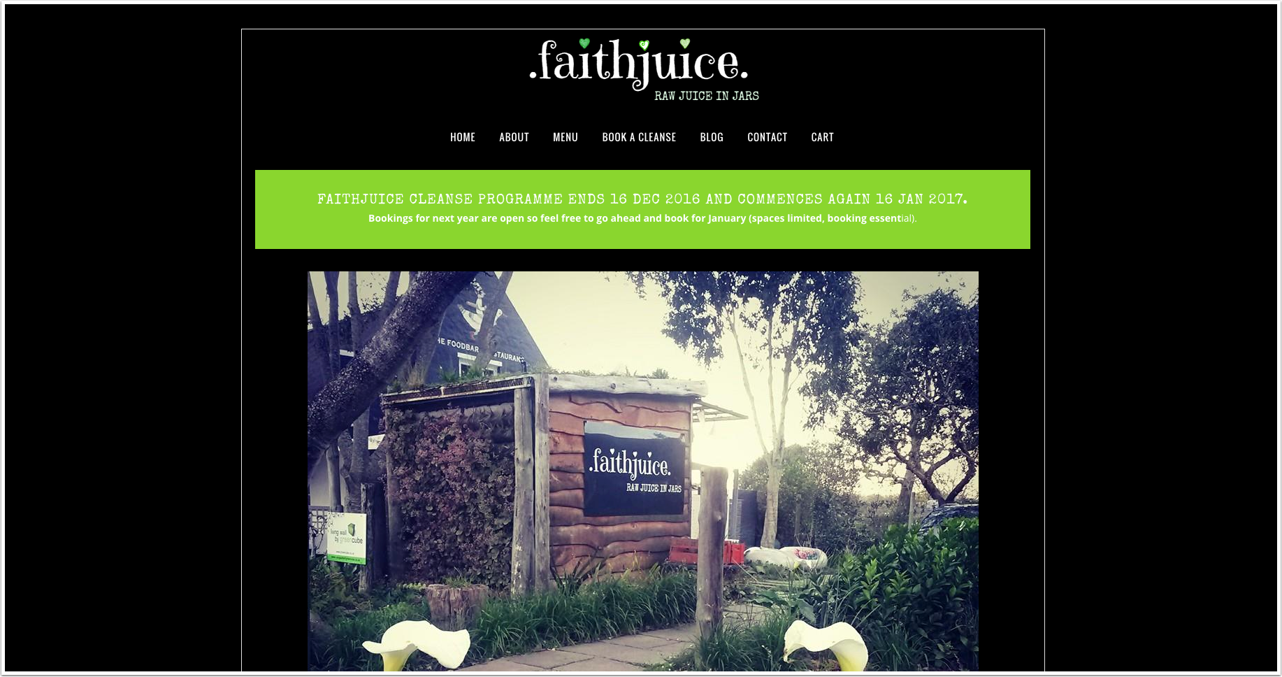 Faithjuice Raw Juice In Jars