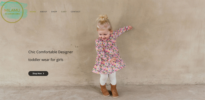 Milamu Toddlers Chic Fashion