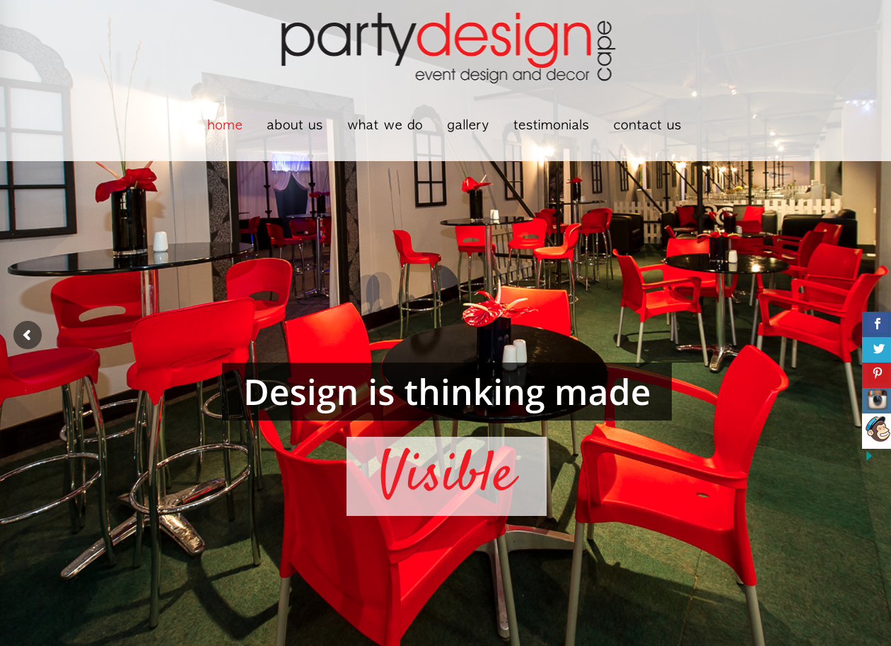 Party Design Cape
