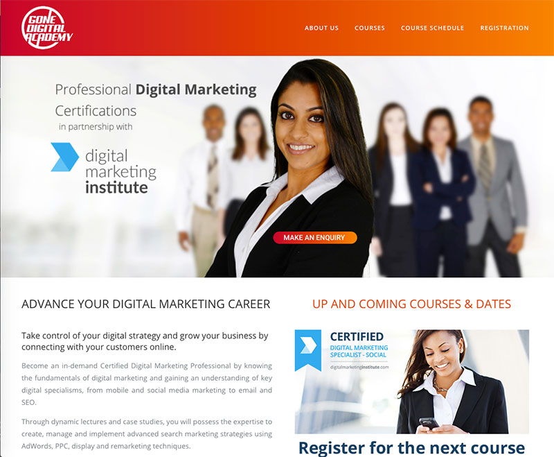 Gone Digital Academy Digital Marketing Certification