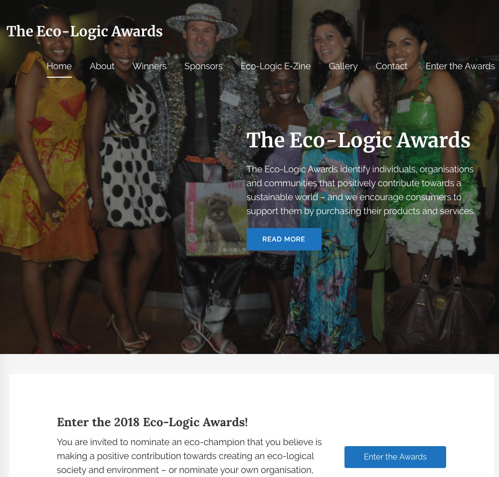 Eco-Logic WordPress Website