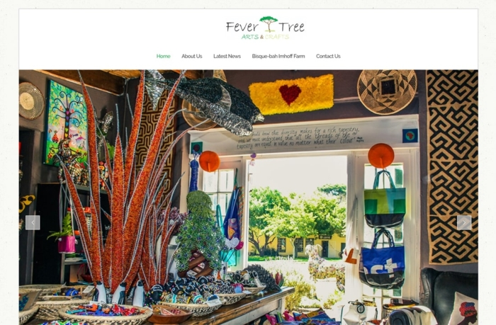 Fever Tree Arts & Crafts WordPress Website